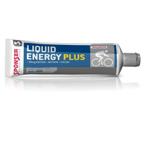 SPONSER ENERGY-GEL LIQUID ENERGY PLUS 70g TUBE