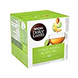 Nescafé Citrus Honey Black Tea Tea capsule - Vainas y cápsulas de té (Tea capsule, Black tea, Honey, Dolce Gusto, 20 kcal, 392 kcal)