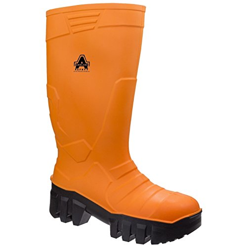 Amblers Mens & 1010 Womens Slip Resistant Steel Toe Safety Wellingtons