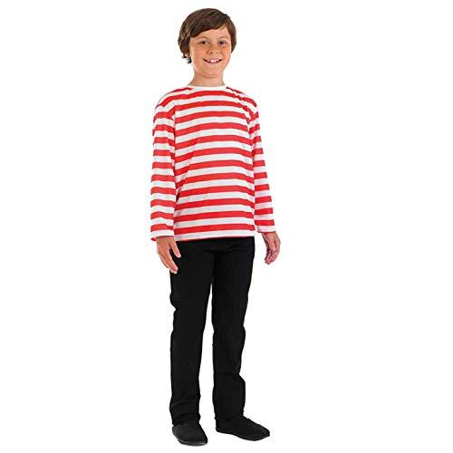 Waldo Kostüm Mädchen - Fun Shack FNK3583S Kostüm, Unisex Children,