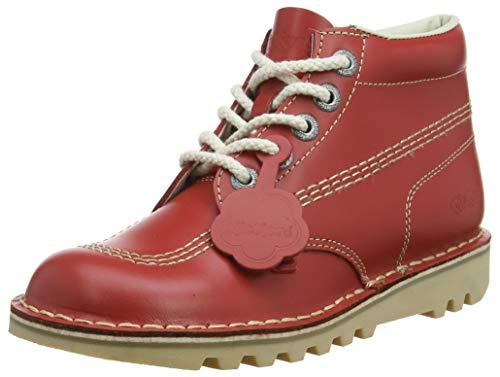 consegna diretta e rapida in fabbrica Kickers Kick Hi Stivaletti Donna, Red, 38 38 38 EU (38 UK) (W3y)  migliore marca