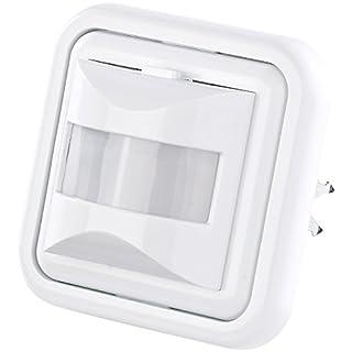 revolt PIR Schalter: Automatischer Lichtschalter mit PIR-Bewegungsmelder (Unterputz Bewegungsmelder)