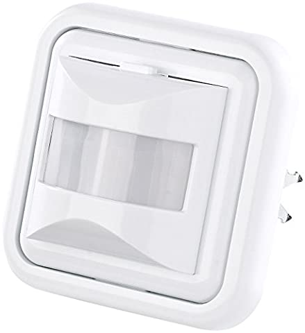 revolt Lichtsensor: Automatischer Lichtschalter mit PIR-Bewegungsmelder (Unterputz Bewegungsmelder)
