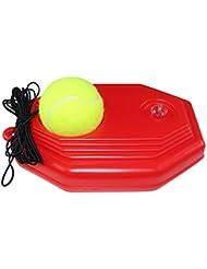 FANGCAN Classic–Zapatillas de tenis para principiantes (Rojo)