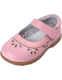 4286f4fde7c Insun Bailarinas para Niña Zapatos Princesa de Niña Flor para Boda  Cumpleaños Sandalias ...