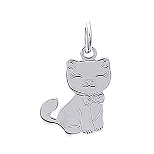 Isady – Marie Argent – Anhänger Tier Katze – 925er Sterling Silber