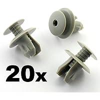 tuqiang/® 20 x Clips//Plastic Screw Zierleisten und Haarb/änder Part Number 807-6991S6//6991.S6 Panneaux de T/üren//F/üllungen