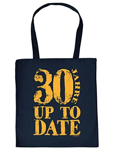 (Sackerl ::: 30 Jahre Up to Date ::: lustige Geburtstags-Tasche)