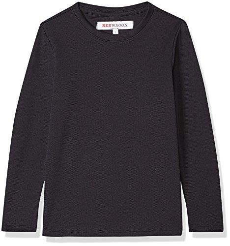 RED WAGON Jungen Atmungsaktives Sport Sweatshirt, Schwarz (Black), 140 (Herstellergröße: 10 Jahre)
