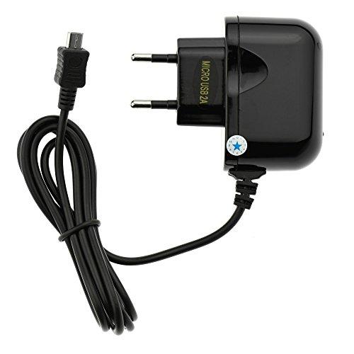StarBerry® Quick Charge Ladegerät 2A für ZTE Blade V9 5V in Schwarz DC USB Ladeadapter Steckernetzteil Charger Ladekabel Aufladekabel Travel Charger MicroUSB V9 Micro Usb
