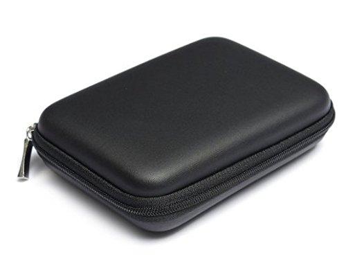 ANKKO Etui Sac Housse Case Antichoc Zippé pour disque durs externes 2,5 pouces (Black)