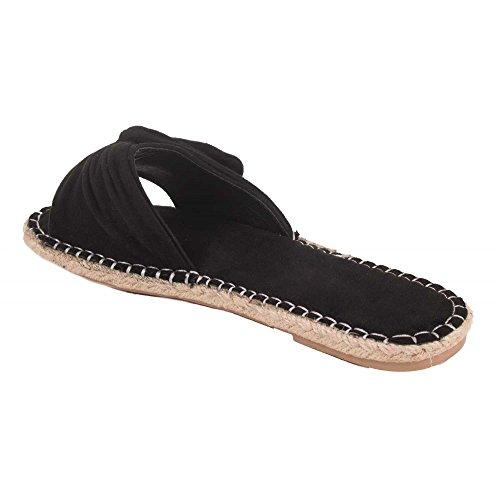 Primtex ,  Sabot/sandali donna Nero
