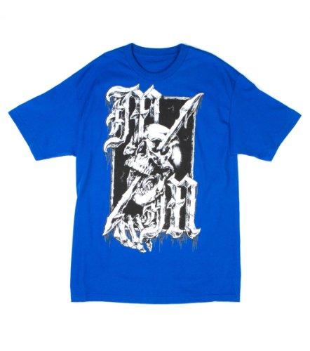 Metal Mulisha - - Männer Through T-Shirt Run Blue