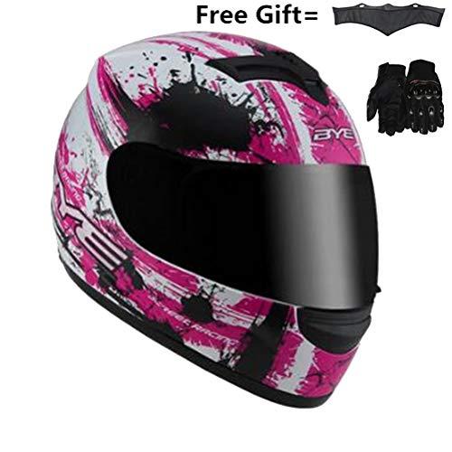 Uomini integrali moto casco Suanproof rimovibile collo più caldo donne Motocross Caschi antiurto anti caduta Racing tappi di protezione