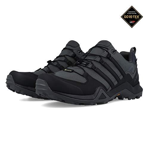 adidas Herren Terrex Swift R2 GTX Traillaufschuhe, Grau Core Black/Grey 0, 45 1/3 EU - Männer Original Adidas Schuhe