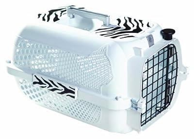 Catit/ Dogit Voyageur Cat/ Dog Carrier, Medium, 56 x 37 x 30 cm, White Tiger Pattern from Hagen