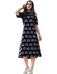 3e35bdd6e67d Knee-Long Women s Dresses  Buy Knee-Long Women s Dresses online at ...