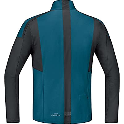 GORE RUNNING WEAR Herren Laufjacke/Shirt, Winddicht, Super Leicht, GORE WINDSTOPPER, AIR GWS Light Shirt long, SWSOAI