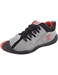 Chevit Men's Stylish 437 Studdland Grey Running Shoes (Sports and Casual Shoes)