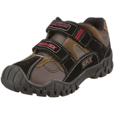 Skechers USA Youth Onset Black/Olive School Boot 93810L 4 UK