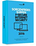 F-Secure Internet Security 2016 - 1 Jahr / 3 PCs