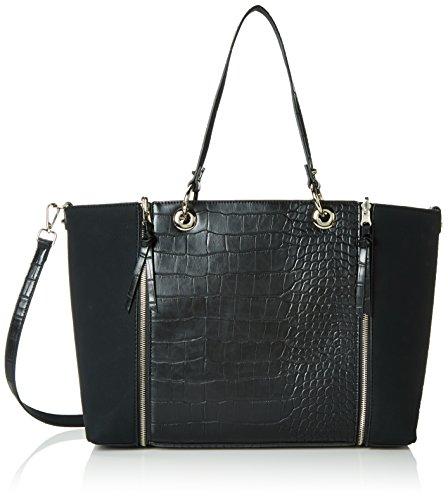 FornarinaAVA - Bolsa de Asa Superior Mujer , color Negro, talla 40x29x12 cm (B x H x T)