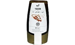 nu3 Premium Bio Yacon-Sirup | 250g im Squeezer | mit angenehmer Süße bei niedrigem glykämischen Index | praktische Dosierflasche | weniger Kalorien als raffinierter Zucker | Zuckerersatz in Desserts, Kuchen, & Waffeln