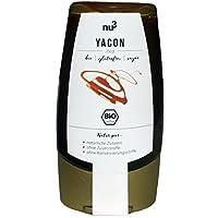 nu3 Sirope de Yacón | 250g | Origen orgánico de cultivo en Perú | Sustituto de azúcar en postres, pasteles y gofres | Bajo índice glucémico | Sabor dulce y agradable | Envase dosificador práctico