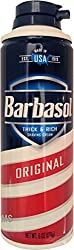 Barbasol Thick Rich Shaving Cream, Original 6 oz (Pack of 4)