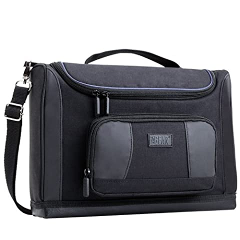 Tablet Messenger Shoulder Bag Case Holder with Water-Resistant Bottom and Organiser Pocket by USA GEAR for Work , School , Travel - Will fit Apple iPad , Amazon Fire Tablet , Samsung Galaxy , Dragon Touch Tablets &