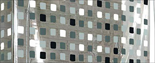 Kleine Wolke 3319110745 Eckduschrollo, 138x62x240 cm , grau