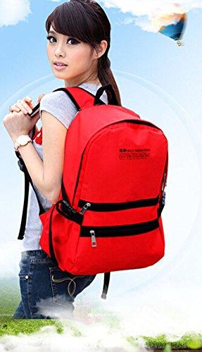 kreativ Freizeit-Beutel-Rucksack Sporttasche Rot