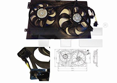 Ventilateur, refroidissement du moteur GOLF IV (08/1997-06/2005)