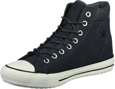 Alti pattini neri 153675C CONVERSE Grey