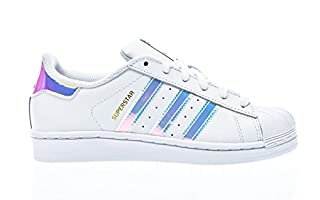adidas Originals Superstar BB2872, Sneakers Unisex - Bambini, Bianco (Ftwr White/Ftwr White/Metallic Silver Sld), 38 EU (B011LDHKMK) | Amazon price tracker / tracking, Amazon price history charts, Amazon price watches, Amazon price drop alerts