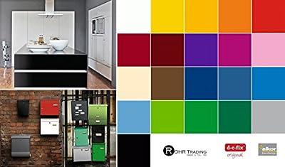 Selbstklebende Folie Tapete Klebefolie für Möbel Küche Tür & Deko Unifarben matt & glanz Möbelfolie Küchenfolie Dekofolie Selbstklebefolie
