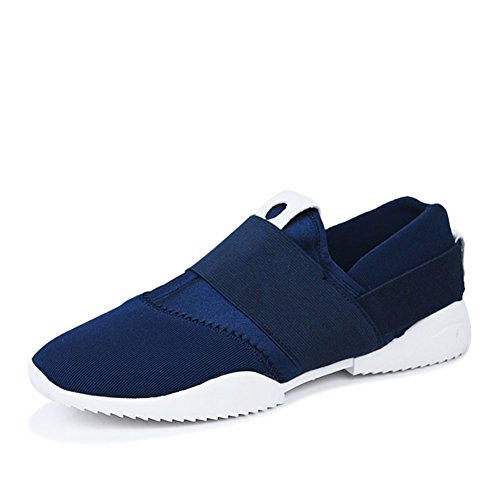 Moda inverno mettere piede sneakers casual/Confortevole e traspirante scarpe Blu marino