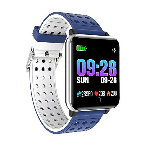Berrose Smartwatch Smart Uhr Stylische IP67 Wasserdicht Sportuhren Männer Jungen Aktivitätstracker mit Pulsmesser Kalorienzähler Schlaftracker für Android IOS und iOS