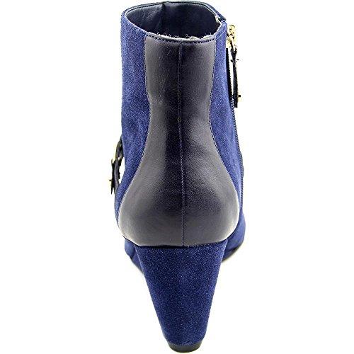 Isaac Mizrahi Koi Femmes Large Daim Bottine Dark Blue