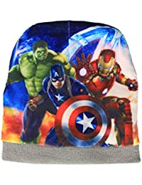Gubbarey Winter Wear Stretchable Soft Warm Woolen caps for Little Boys Age 2 to 8 Years.