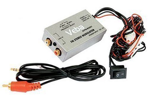Veba AVFM-MOD01 FM-Modulator, für iPod / iPhone / MP3-Player usw. - Plus Power Filter