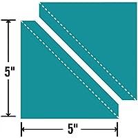 Sizzix Bigz L Fustella-Mitad-Cuadrado de Triángulo, 5