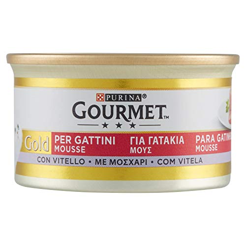 Gourmet Gold Gattini Mousse Vitello Gr. 85