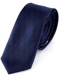 DonDon schmale Krawatte 5 cm - von Hand gefertigt und mehrere Farben