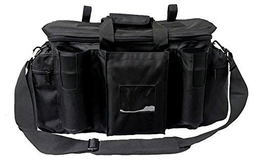 Armeeverkauf Polizei Einsatztasche Tasche mit Schulterriemen und Fächern schwarz Security bag Sicherheitsdienst ...