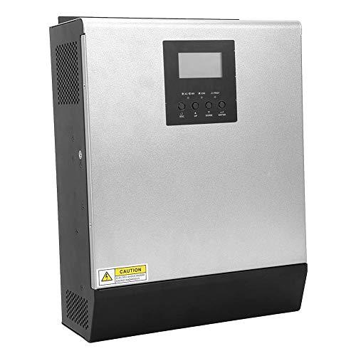 Hybrid-Wechselrichter, Photovoltaik-Solar-Wechselrichter 3KW 2400W MPPT 24V MPS-3K Hybrid-Wechselrichter mit netzunabhängiger Steuerung und LCD-Anzeige für Computer für Haushaltsgeräte(#1)