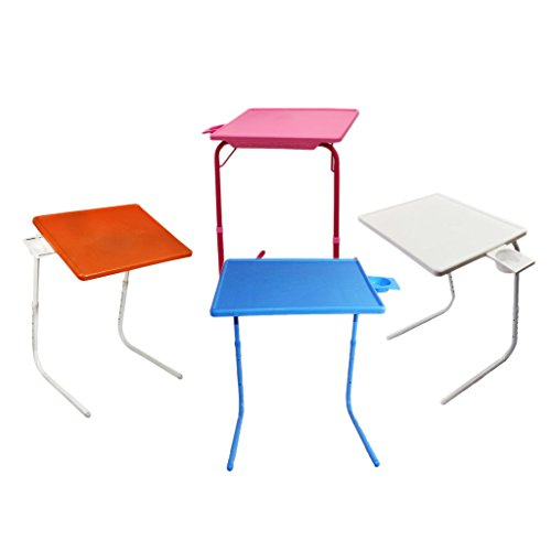 Ebee Adjustable Blue Holder Table Mate for Home Office Reading...