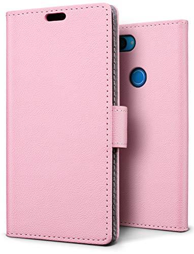 SLEO Funda para Xiaomi Mi 8 Lite Carcasa Libro de Cuero Ultra Delgado Billetera Cartera [Ranuras de Tarjeta,Soporte Plegable,Cierre Magnético] Case Flip Cover
