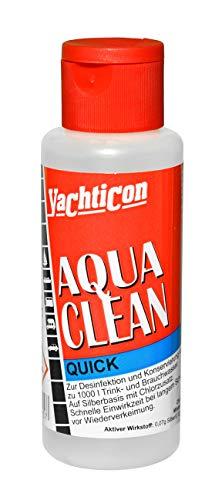YACHTICON Aqua Clean AC 1000 Quick mit Chlor 100ml für 1000 Liter