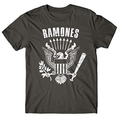 LaMAGLIERIA Camiseta Hombre Ramones Cod Rs01 - Camiseta 100%...